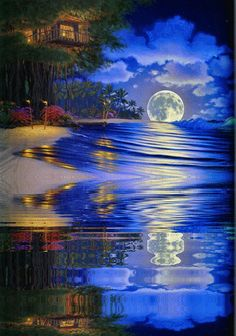 Come Sit By Me A While: Moonlit Nights.