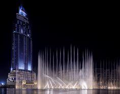 Dubai water show.