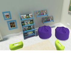 Key stage 2 reading corner bundle for primary school classrooms