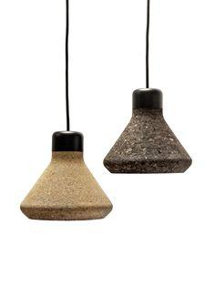 Schön LUIZ Lamp   Die Leuchten Sind Aus Dem Naturmaterial Kork. #lamp #leuchte #