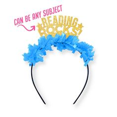 Reading Rocks! Party Crown