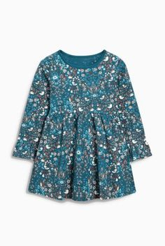 Buy Teal Ditsy Print Tunic (3mths-6yrs) online today at Next: United States of America