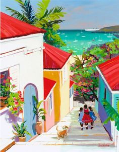 Painting by Shari Erikson