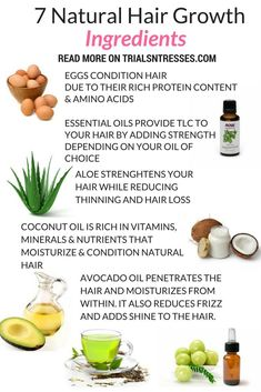 Top 7 Natural hair Growth Ingredients You don't have to spend a fortune to have healthy hair. Here are the top 7 natural hair growth ingredients. Best Natural Hair Products, Natural Hair Care Tips, Natural Haircare, Natural Hair Growth, Natural Hair Styles, Extreme Hair Growth, Hair Growth Tips, Hair Remedies For Growth, Tips