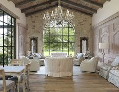 Gorgeous French Country Living Room Decor Ideas (22)