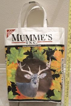 pattern to repurpose big plastic feed sacks into sturdy tote bags
