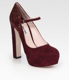 2015 Shoe Trend Forecast for Fall & Winter ... 39dvrj-l-610x610-shoes-burgundy-heels-pumps-suede-mary-janes └▶ └▶ http://www.pouted.com/?p=36464