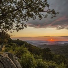 Hazel Mountain Overlook at Shenandoah National Park. (Brian Russell)