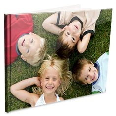 Personalized Hardcover Photobook - made from your own digital photos.