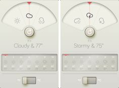 """""""A Weather App Based Upon Dieter Rams's 10 Principles Of Design"""""""