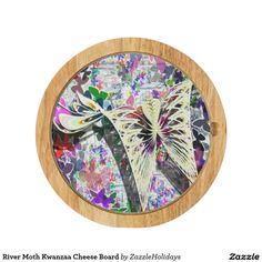 River Moth Kwanzaa Cheese Board