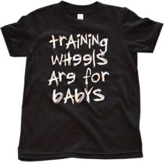 Get yours today! Trial Bike, Bike Shirts, Balance Bike, Striders, Kids Store, Company Names, Kids Outfits, Mens Tops, Business Names