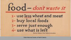1917: U.S. Food Administration advertisement poster promoting food ...