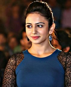 Rakul in Blue dress Famous Indian Actors, Indian Actresses, Actors & Actresses, South Actress, South Indian Actress, Beautiful Gorgeous, Beautiful People, Bikini Images, Interesting Faces