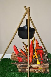 Bible Fun For Kids: Genesis: Jacob & Esau - Litecoin - Ideas of Litecoin - Bible Fun For Kids: Genesis: Jacob & Esau Camp Out Vbs, Fake Campfire, Anniversaire Cow-boy, Wild West Party, Vbs Themes, Cowboy Party, Cowboy Theme, Western Parties, Vacation Bible School