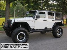 2008 Lifted Jeep Wrangler Unlimited Rubicon