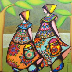 Frank Ayroles Frozen Birthday Theme, Sesame Street Birthday, Cute Crafts, Gourds, Body Painting, New Art, My Arts, Art Deco, Africa