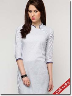 If you are looking for traditional yet trendy look Indian dresses, then choose vibrant and colourful Kurti Designs at College or workplace. Checkout the latest designs. Punjabi Dress, Pakistani Dresses, Indian Dresses, Indian Attire, Indian Wear, Indian Outfits, Indian Clothes, Salwar Designs, Blouse Designs