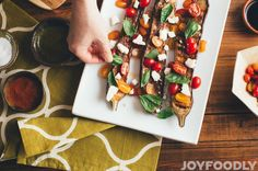 Because vegetables were meant to be grilled!  Sumac grilled Chinese eggplant dressed with tomatoes, basil and feta!  http://www.joyfoodly.com/sumac-grilled-chinese-eggplant-dr…/  #MeatlessMonday #HuffPostWomen #feedfeed #foodphotography #homemade #foodblogging #huffpotaste #foodie