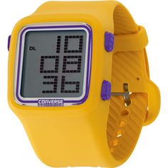 Converse Scoreboard digital watch - Los Angeles Lakers colorway