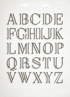 easy lettering for beginners Hand Lettering Alphabet, Doodle Lettering, Creative Lettering, Types Of Lettering, Lettering Styles, Typography Letters, Brush Lettering, Lettering Design, Cool Fonts Alphabet