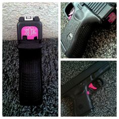 The Best Concealed Carry Guns For Women - Allgunslovers Glock Girl, Police Wife Life, Pink Guns, Best Concealed Carry, Cool Guns, Thin Blue Lines, Guns And Ammo, Girls Best Friend, Country Girls