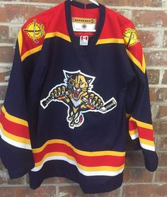 on sale 9239a 67412 florida panthers jersey ebay