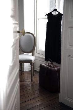 moynat-paris:  Behind the scenes images from Moynat Parisian Promenade: inside Jeanne's home rue Saint Honoré