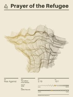 The Audiographa Project Captures the Compositions of Music - Design Milk