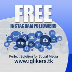 iGLikers is a Super Simple and Fastest Instagram Free Services. Quickly gain popularity on Instagram by getting Our High Quality Followers and Likes.