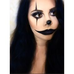 Goth Clown Makeup | Dark Clown #makeup #mua #makeupartist #makeupporn #makeuplover # ...