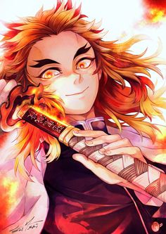 Read Handsome rengoku from the story Demon Slayer( Kimetsu No Yaiba) Photo+memes by phuepps (Phue) with reads. Demon Slayer, Slayer Anime, Fanarts Anime, Anime Characters, Me Me Me Anime, Anime Guys, Otaku, Manga Dragon, Arte Do Kawaii
