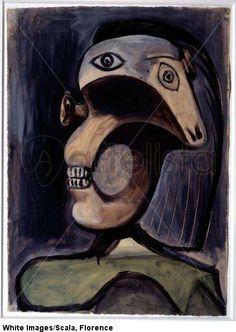 ♥ Tete de Femme ♥ 1940 Pablo Picasso