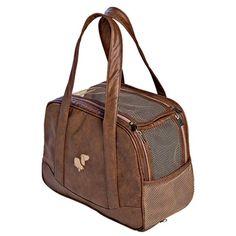 Bolsa Lolita Couro Ecológico Bag Dog - MeuAmigoPet.com.br #petshop #cachorro #cão #meuamigopet