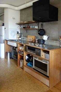 リノベ的、ローコスト造作キッチンの勘所 – おうちあれこれ