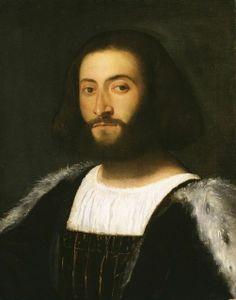 TIZIANO VECELLIO, CALLED TITIAN Portrait of a Man, ca. 1508-1510