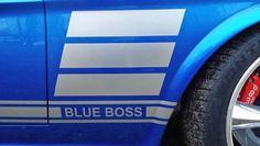 Blue boss