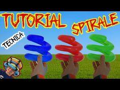 PALLONCINI MODELLABILI tutorial 24  SPIRALE ( TECNICA) - YouTube