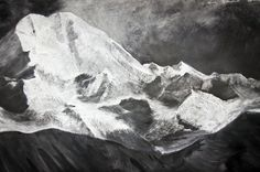 """""""Ascending the stairs in a nondescript building off the city square, you were amazed to see extraordinarily vivid, large-scale  renderings of rivers and mountains rendered in chalk on blackboard by Tacita Dean."""""""