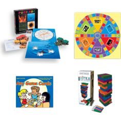 "PLAY THERAPY GAME PACKAGE Includes 4 ""must-have"" games for play therapy: Puzzled? Problem Solving Game; SOLUTION City Therapeutic Game; ""Any Game"" Cards; and The TOTIKA Game (with Self-Esteem Card Deck)."