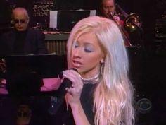 Christina Aguilera - Merry Christmas Baby (David Letterman Show 2000).