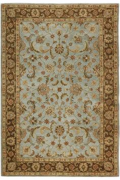 Great colors though a more traditional rug style for sure. Bronte Rug - Wool Rugs - Traditional Rugs - Rugs | HomeDecorators.com