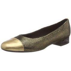3fb81e81ced3 Chaussure ballerine Geox Wistrey pour Femme couleur  Or B-7FJL