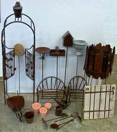 We stock hard to find miniature accessoryitems for your fairy garden.