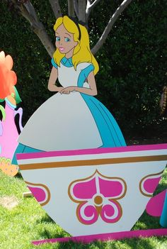 """Photo 3 of 53: Alice in Wonderland, Mad Tea Party / Birthday """"A Party in Wonderland""""   Catch My Party"""