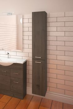 Azur Storage in coronet beech Bathroom Storage Solutions, Bathrooms, Vanity, Dressing Tables, Powder Room, Bathroom, Full Bath, Vanity Set, Single Vanities