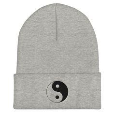 Skull Caps Never Trust an Atom Winter Warm Knit Hats Stretchy Cuff Beanie Hat Black