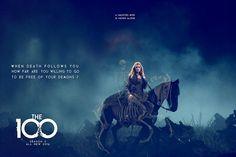 The 100 season 3 poster contest || Clarke Griffin || Eliza Jane Taylor