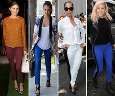 Shop This Hot Celebrity Trend Now! Tuxedo Jeans