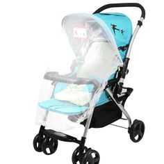 Stroller Accessory Pushchair Mosquito Insect Shield Net Summer Stroller Pushchair  Insect Net Mesh Buggy Cover